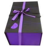 Contenitore impaccante di carta di lusso personalizzato di contenitore di regalo per natale