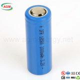 Batería de ion de litio de Ifr 18500 1000mAh 3.2V para la batería de la potencia