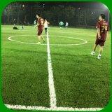 Erba artificiale del tappeto erboso del filato diritto di figura di S per Futsal