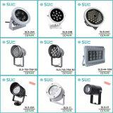 Riflettore esterno di uso 12W IP65 LED di vendita calda