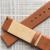 Auswechselbare Ebene kein nähendes echtes Leder-Uhrenarmband