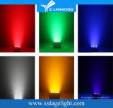 LED-färbt helles NENNWERT 64 Stadium Uplight Rgbaw UV6in1 der Batterie-LED Hochzeit 12X18W drahtloses DMX512 NENNWERT Stadium Uplighting