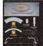 Frisos de Círculo de teto de poliuretano PU Anel Teto hn-P001