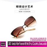 3831 neue Form-Retro Unisexart-bunte Sonnenbrillen