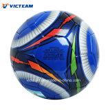Dernière conception Bleu de bobinage de l'exercice de football en nylon