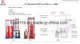 Sistema de supresión automático competitivo popular de fuego del gas Hfc227ea del mercado