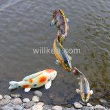 Вода с плавающей запятой плавающего режима рыбных сад оформление