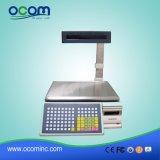 인쇄 기계를 인쇄하는 Barcode 레이블을%s 가진 TM-AA-5D Ocom 30kg 전자 무게를 다는 가늠자