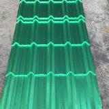 Tuile de toiture colorée rouge d'isolation thermique pour le matériau de construction