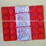 Beat prix comprimés de paracétamol certifiées GMP (acétaminophène) (500mg)