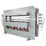 Porta de madeira prensa a quente