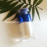15ml glanzende Blauwe AcrylFles Zonder lucht voor Verpakking Skincare (ppc-nieuw-163)