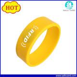 125kHz /13.56MHz bracelets RFID avec logo personnalisé imprimé