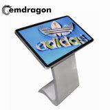 무선 광고 선수는 32 인치 증명서 LCD 디지털 Signage를 위한 실내 접촉 스크린 모니터 USB HD 영상 통신망 광고 매체 선수를 다중 만진다