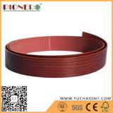 테이블 가장자리를 위한 목제 곡물 PVC 가장자리 밴딩