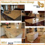 Nieuwe Venetiaanse Gouden Countertop van de Keuken van het Graniet/Bovenkanten/Ijdelheid