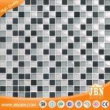Mosaico cristalino del cuarto de baño del color amarillento interior de la pared (M855006)