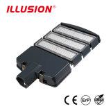 Luz de rua LED 100W com 130lm/w e 160lm/w