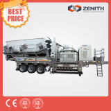 Portable Stone/Mobile Cone Dirty Crusher Seedling for