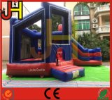 Kundenspezifischer aufblasbarer Schloss-Prahler mit Plättchen für Kinder
