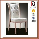 食堂のための木製の穀物が付いているホテルのアルミニウム椅子
