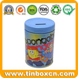 Spongebob Ronda Don Tin Coin bank dinero Metal tin box