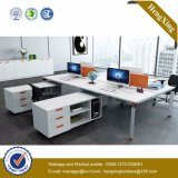 4 Sitzfabrik-Preis-Arbeitsplatz-Büro-Partition (HX-NJ5040)