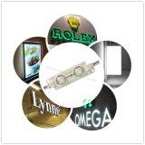 módulo de 2LEDs 60lm W/RGB SMD5050LED com a lente para a iluminação iluminada do Signage/forma/caixa leve com 3 anos de garantia