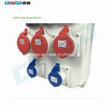 Großserienfertigung passen der im Freien300x520x160mm PC wasserdichten elektrischen Kontaktbuchse-Verteilerkasten an