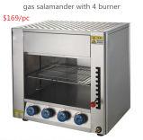 販売のための4つのバーナーのステンレス鋼BBQのグリルのサンショウウオを持つガスのサンショウウオ