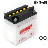 OEM sec acceptable pour les motards de la batterie plomb-acide 12V9AH 12N9-4B-1