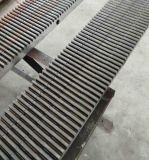 C45 de la qualité en acier au carbone DIN 8 rack d'engrenage de la classe