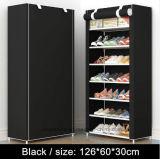 Equipamento para Engraxar os Sapatos de armário de racks de grande capacidade de armazenamento de dados móveis domésticos DIY Rack Sapata portátil simples (A)-09FS