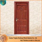 Deshengの現代表玄関の木製の切り分けるドアデザイン