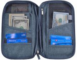 Вспомогательное оборудование бумажника перемещения устроителя держателя пасспорта при RFID преграждая мешок карточки удостоверения личности