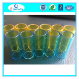 Tube de verre de quartz colorisée avec filetage pour l'E-Ciggarette Atomizer