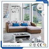 3 bâtis sectionnel beige doux de divan de sofa de jeu de salle de séjour de PC du divan et de sofa, meubles de Bisini, type moderne