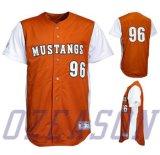 Knöpft Großhandelszoll personifizierter Baseball Jersey Hemd (B027)