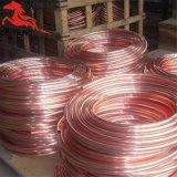Tubo de cobre de la refrigeración de la bobina de la crepe