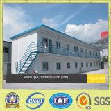 A construção modular pré-fabricados no local de trabalho