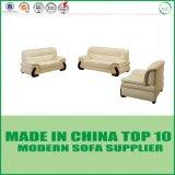 Sofa moderne simple contemporain de salle de séjour de cuir de meubles de bureau