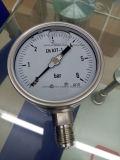 Tipo manometri della flangia dell'acciaio inossidabile di diaframma