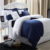Hôtel de luxe brodé de linge de lit de satin