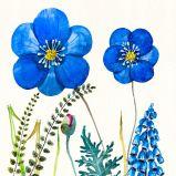 Fleur décorative sur l'huile Peinture pour la décoration d'accueil