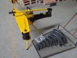 Piegatrice idraulica manuale del tubo di prezzi di Fctory con il basamento 23ton (HHW-4J)