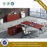 PVC de formica de mélamine stratifié L bureau exécutif de forme (HX-NJ5097)