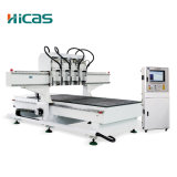 Router do CNC de 3 linhas centrais para o Woodworking (Hc60-Mt)