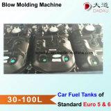 Tanques de petróleo do carro que processam a maquinaria