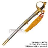 Punhais históricos que comandam a decoração 60cm da casa da espada