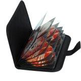 Крышка бумажника набора VCD DVD автомобиля емкости диска профессионала 32 защищает хранение носит мешок сделанный 230d цветом ткани 6